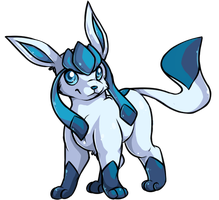Glaceon by Aorio