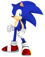 Sonic the Hedgehog Newest Render by JaysonJeanChannel