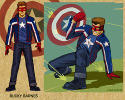 ProjectRooftop-Captain America by MikeDimayuga