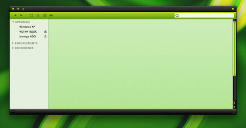 WIP - Green Theme by Benjigarner