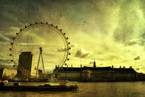 old london eye by oeminler