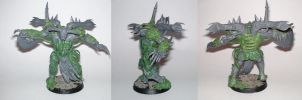 nurgle daemon prince converted by orgxiiifreak