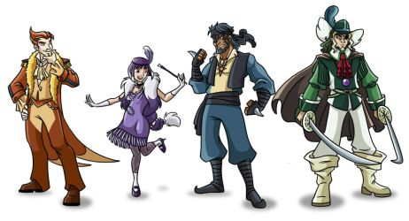 Humanized Mons by Oniwanbashu