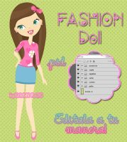 FASHION Doll .psd by RoohEditions
