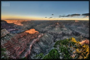 Grand Canyon awakening - twice by Nachtfokus