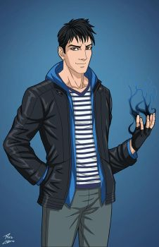 Todd Rice (Earth-27) commission by phil-cho