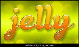 Colorful Jelly Text Effect by WebTreatsETC