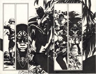 Earth-X 4 Black Panther by BillReinhold