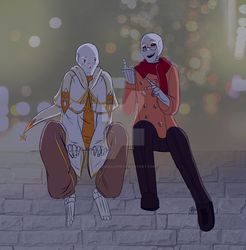 [Collaboration] Pierre and Ambre by Takeowalker