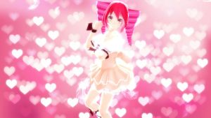 MMD - Cupid Teto Tda (DL ...?) by gatodechocolate