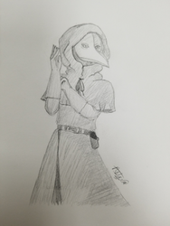 scp-049 - the plague doctor by astra-magicka