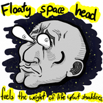 Space Head Is Lonely by graynate