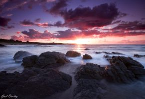 Crazy sunset by gaelboulay