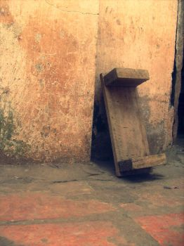 Old stool by shiiire