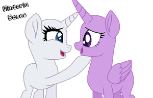 l + MLP Base #9 + l You're so cute! by Mintoria-Bases