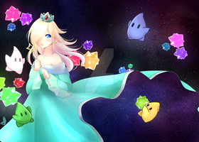 Rosalina and Lumas by Another-magic-user