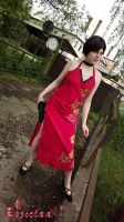 Ada Wong RE4 cosplay V by Rejiclad