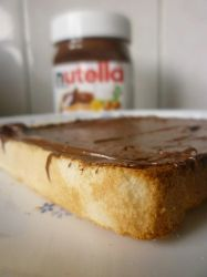 Nutella on toast is... by AYYHuang