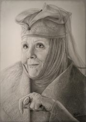Olenna Tyrell by VKCole