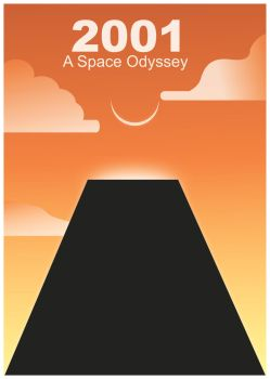 2001: A Space Odyssey poster by absolute-beginner