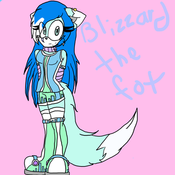 Blizzard The Fox by cutegirl13xx