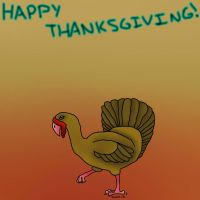 Happy Thanksgiving Greeting Card by ScarletCB1999