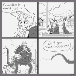 Doodlekak comic by GantzAistar