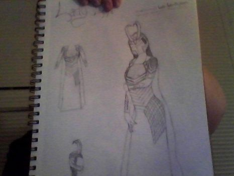 Lady Loki Laufeyson by burtonmanrocks19