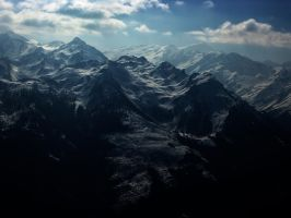 Mountains by Caszs