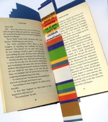 4th Doctor scarf bookmark by F-A