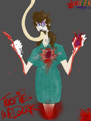 GoreTober! Week 1 (Surgery with Henry) by FiretheFlame