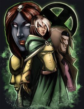 Rogue Coloured by Scorch-D