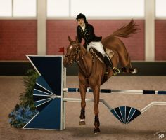 Scuderie della Torre Opening Show   Show Jumping by Zoubstance