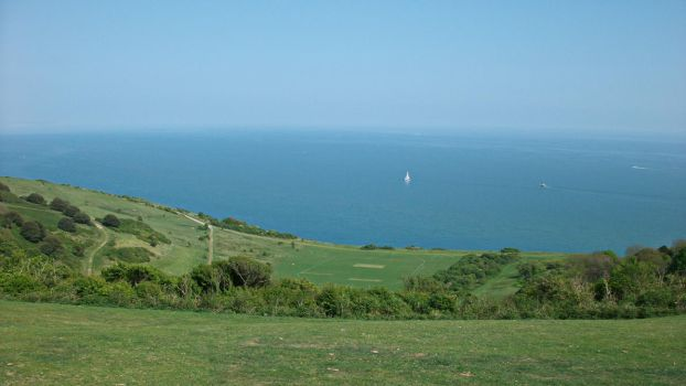 View from Beachy Head by UdoChristmann