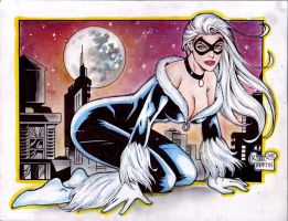Black Cat (#9) by Rodel Martin by VMIFerrari