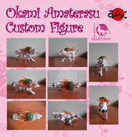 Okami Amaterasu figure by Ishtar-Creations