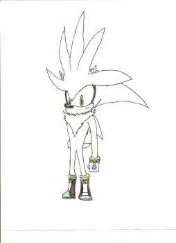 Silver the Hedgehog by Excalibur5k