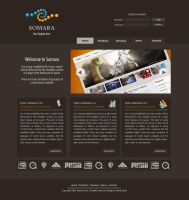 Somara-Webdesign by fais3000