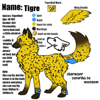 Tigre Reference by WolfGlow