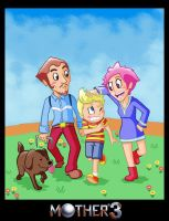 Mother 3 by captainsponge