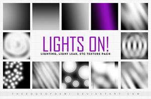 Icon Textures Pack | Lights On! by TheEdgeOfDemi