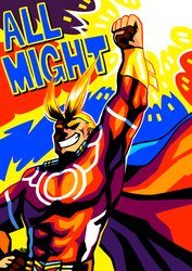 [HERO ACA] All Might by neonUFO