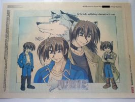 Wolf Brothers on The Star Newspaper 2007 by krystlekmy