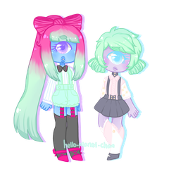 [Cyclop Sisters] by hello-planet-chan
