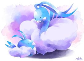Altaria and Swablu
