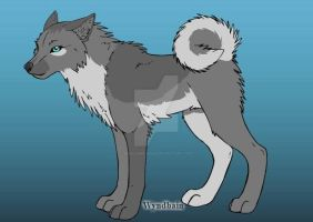 Wolf adoptable. (OPEN) by Minnowbean666