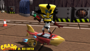(MMD Model) Dr. Neo Cortex (Twinsanity) Download by SAB64
