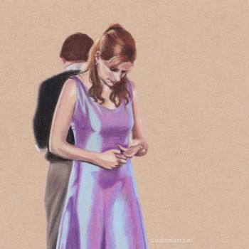 Misinterpretations - Jim and Pam by Ladamania