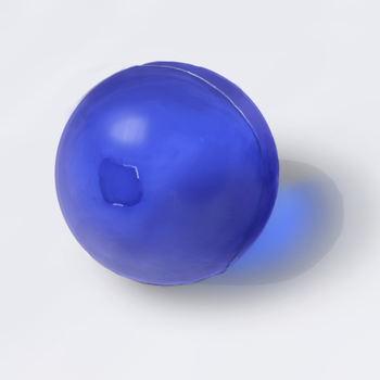 Rubber Ball - Texture Exercise by Democritus