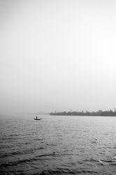 The Lone Fisherman by SnapShotDataBase